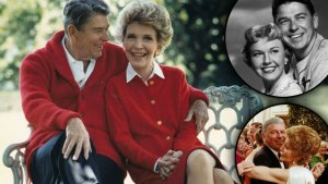 Nancy Reagan Feuds F
