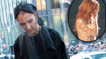 Celine Dion Rene Angelil Funeral F