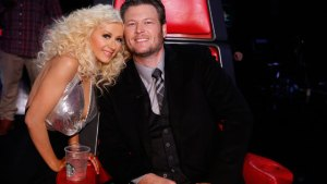 Blake Shelton Christina Aguilera The Voice