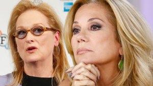 Kathie Lee Gifford Meryl Streep Charity Gala