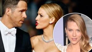Ryan Reynolds Blake Lively Marriage — Scarlett Johansson Robot