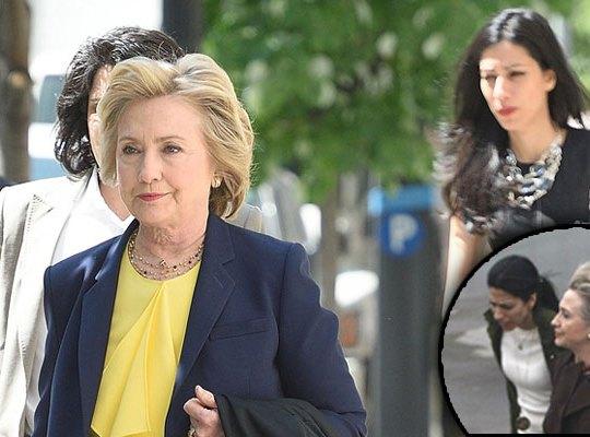 Hillary clinton lesbian huma aide photos F