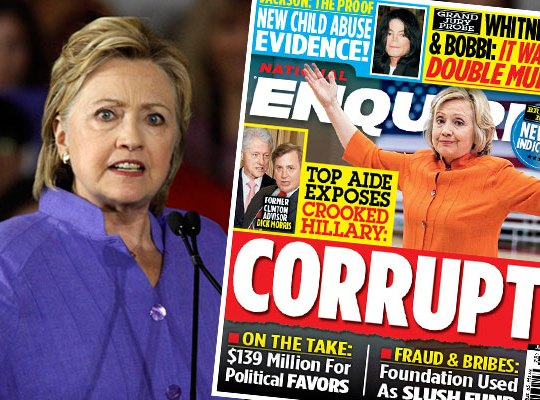 hillary clinton foundation scandal cash payoffs