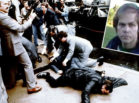 john hinckley released reagan shooting