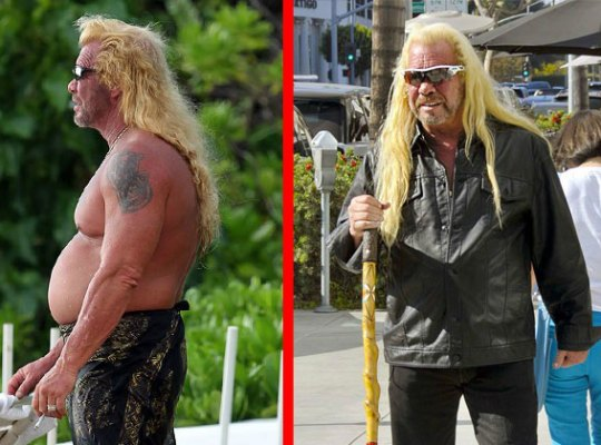 Duane 39 dog 39 chapman 39 s bounty ful belly national enquirer for Duane chapman dog the bounty hunter