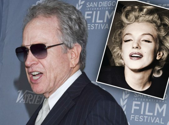marilyn monroe warren beatty night of death