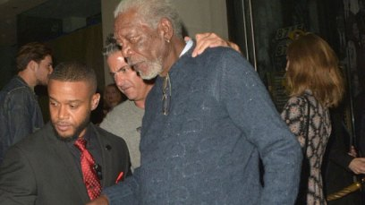morgan freeman health glove car crash