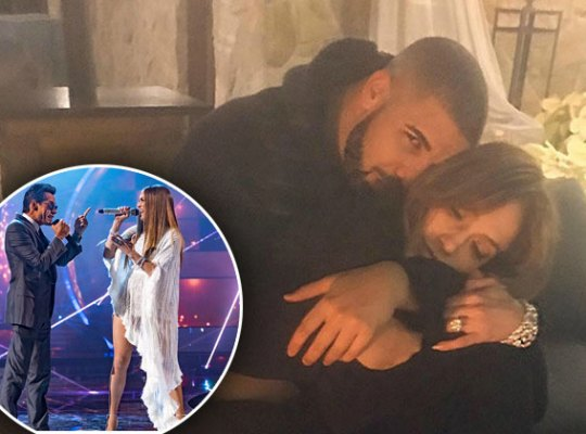 jennifer lopez dating drake