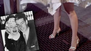 marilyn monroe joe dimaggio abuse beating subway scene