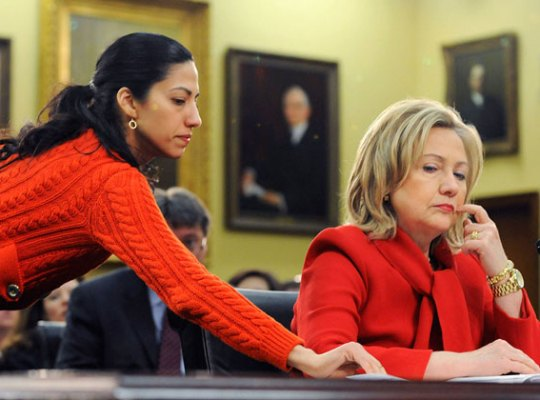 hillary clinton email scandal huma abedin funeral