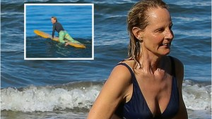 Helen Hunt's Bikini Body Secret: Catching Waves In Hawaii thumbnail