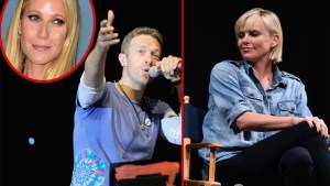 chris martin gwyneth charlize theron