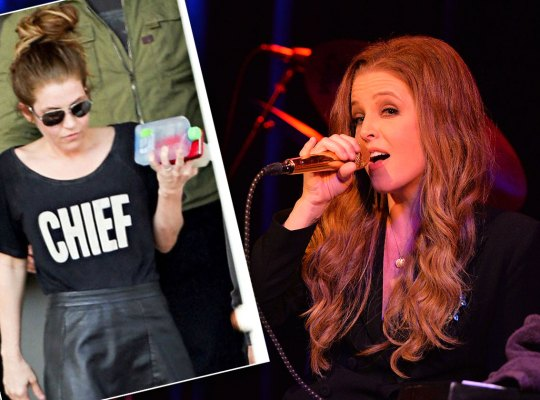 Lisa marie presley rail thin F