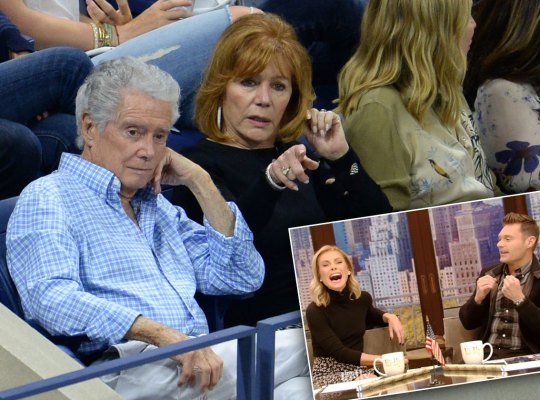 regis philbin health kelly ripa