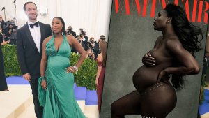 serena williams pregnant vanity fair cover