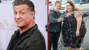chrissy metz sylvester stallone advice