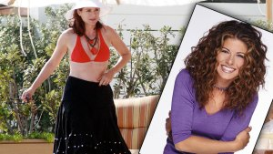 Debra Messing Packs On The Pounds thumbnail