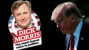 Dick morris trump vs deep state F