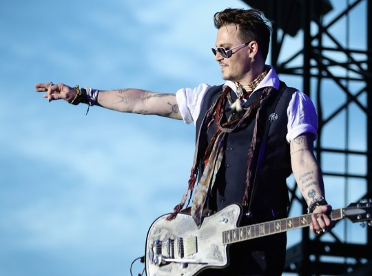 johnny depp broke vampire band breakup