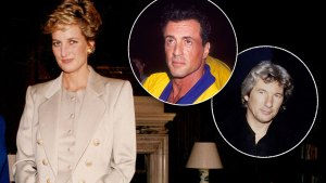 sylvester stallone princess diana feud richard gere