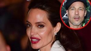 Angelina Jolie Anorexia Crisis — As Brad Turns Away thumbnail