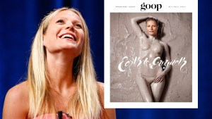 Gwyneth Paltrow Goes Nude For 'Goop' Magazine thumbnail