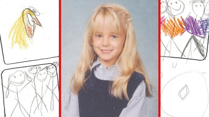 jonbenet ramsey murder childhood drawings