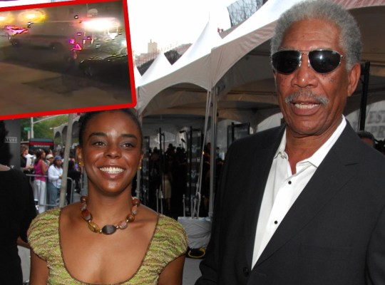 morgan freeman lover stabbing video