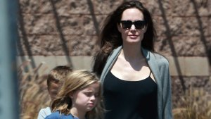angelina jolie family shopping