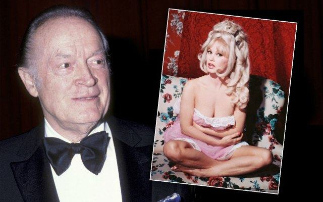 bob hope affairs sex scandals mamie van doren