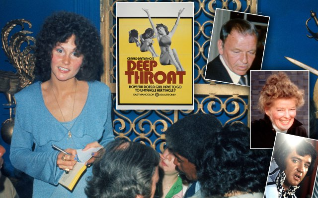 linda lovelace deep throat sammy davis jr frank sinatra elvis
