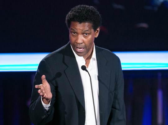 denzel washington speaking tongues religious