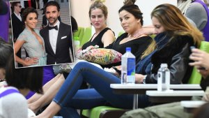 Eva Longoria Ditches Glamour For Pampered Pregnancy thumbnail