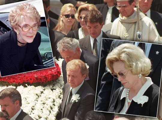Nancy Reagan Vs. Barbara Sinatra — Feud Over Frank's Funeral thumbnail