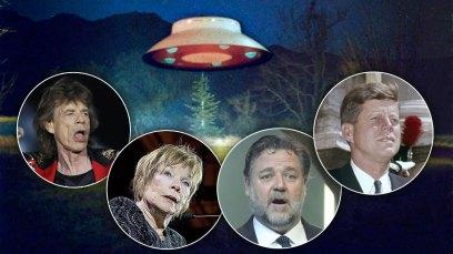 celebrity ufo sightings