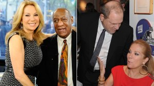 kathie lee gifford defends bill cosby harvey weinstein