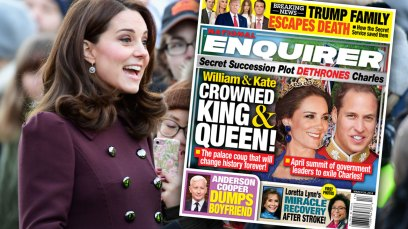 Prince William & Kate To Be Crowned King & Queen thumbnail