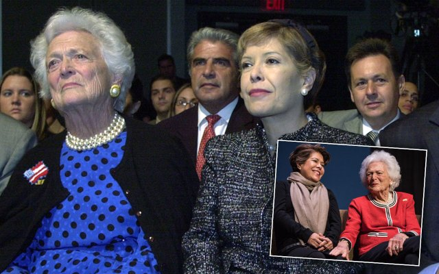 barbara bush death bed dying feuds
