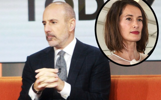 matt lauer fired exile divorce