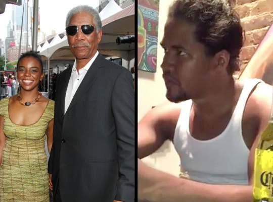 Morgan freeman granddaughter affair murder F
