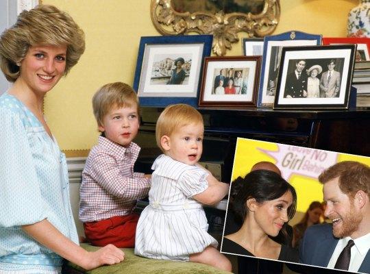 meghan markle prince harry princess diana wedding
