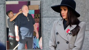meghan markle wedding scandals father