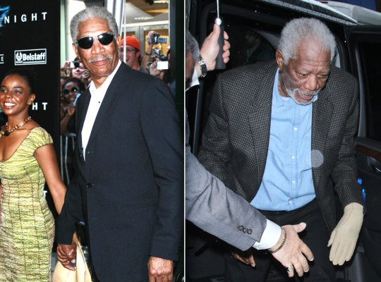morgan freeman sex scandals granddaughter