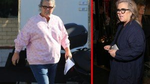 rosie odonnell suicide drama weight loss