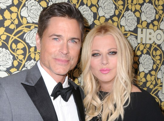 rob lowe insult wife sheryl berkoff