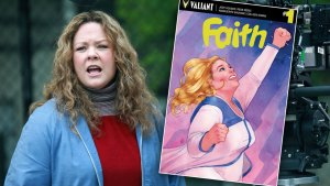 melissa mccarthy superhero movie faith