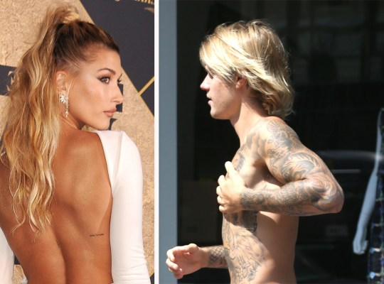 justin bieber hailey baldwin nude wedding