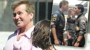 val kilmer health top gun filming tom cruise