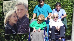 kirk douglas wife final days photos