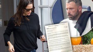 ben affleck jennifer garner divorce filing